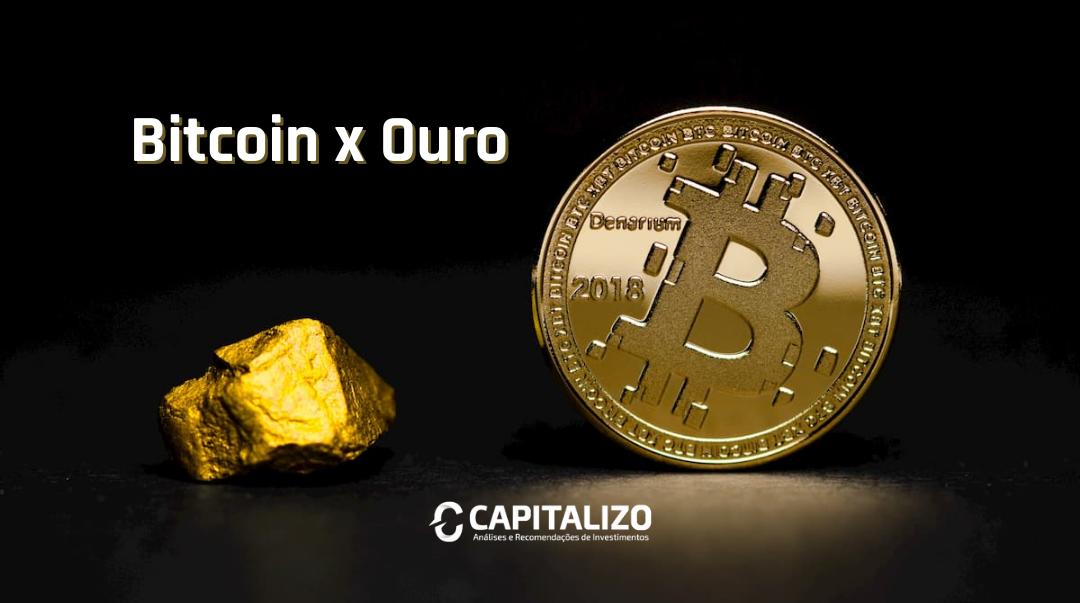Reserva de valor - entre bitcoin e ouro, qual o melhor?